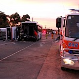 Swan Hill Truck-Bus Crash