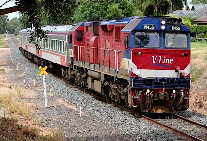 SH - V/Line train strikes