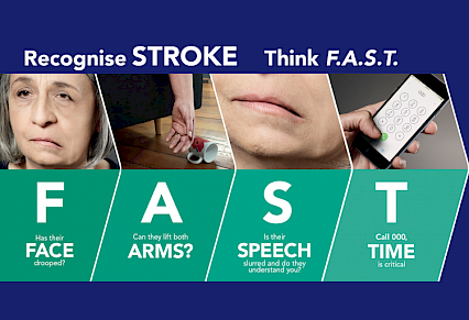 FAST stroke awareness